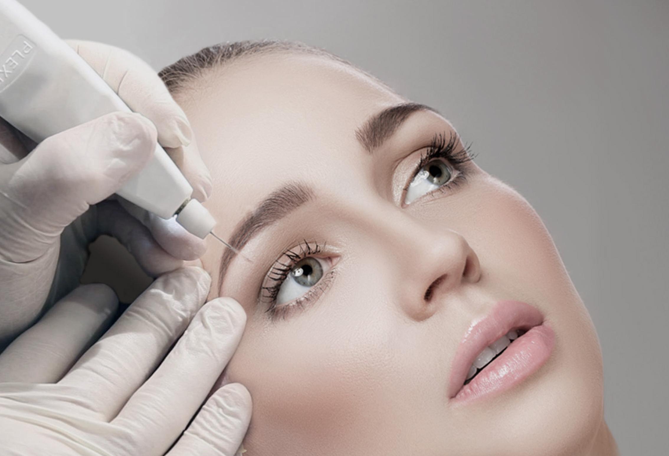 aparat plexr blefaroplastie nechirurgicala lifting facial, clinica D6 Cluj