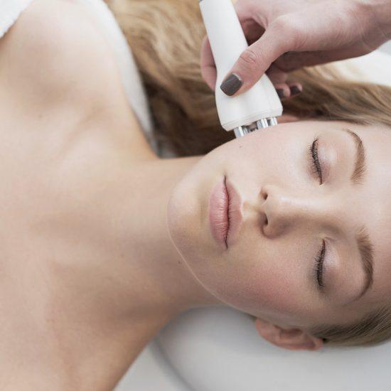 radiofrecventa faciala stimulare colagen tratamente antirid, clinica D6 Cluj