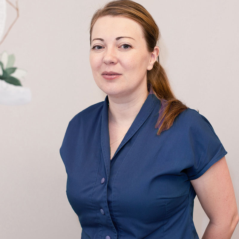 asistent medical Isabela Mihut cabinet dermatologic, clinica D6 Cluj