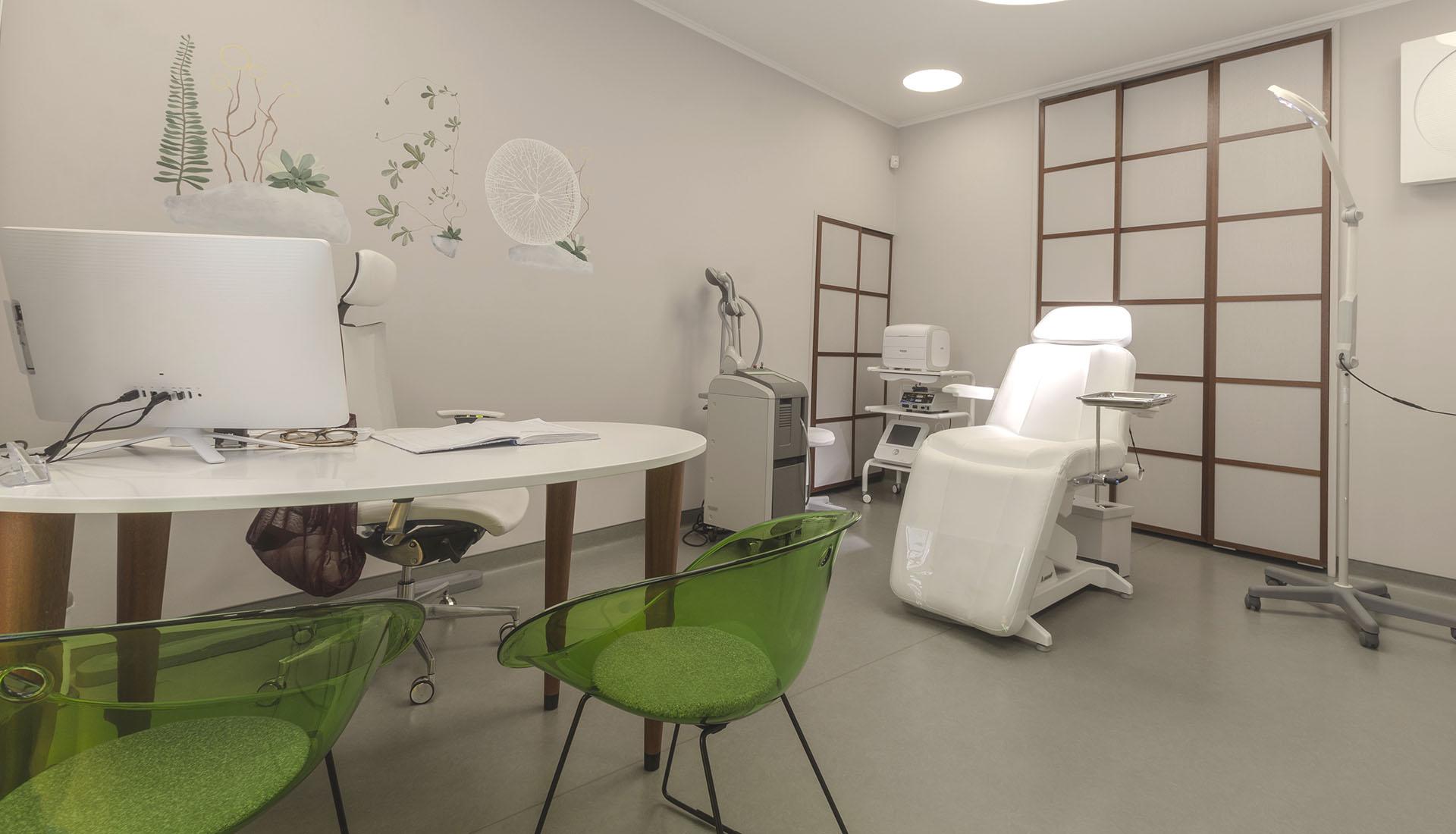 cabinet dermatologic consultatie dermatologica, clinica D6 Cluj