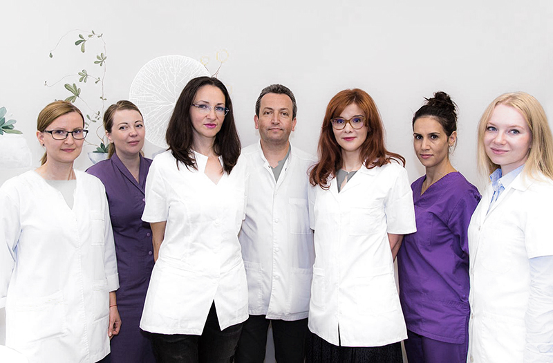 echipa medici dermatologie, clinica D6 Cluj