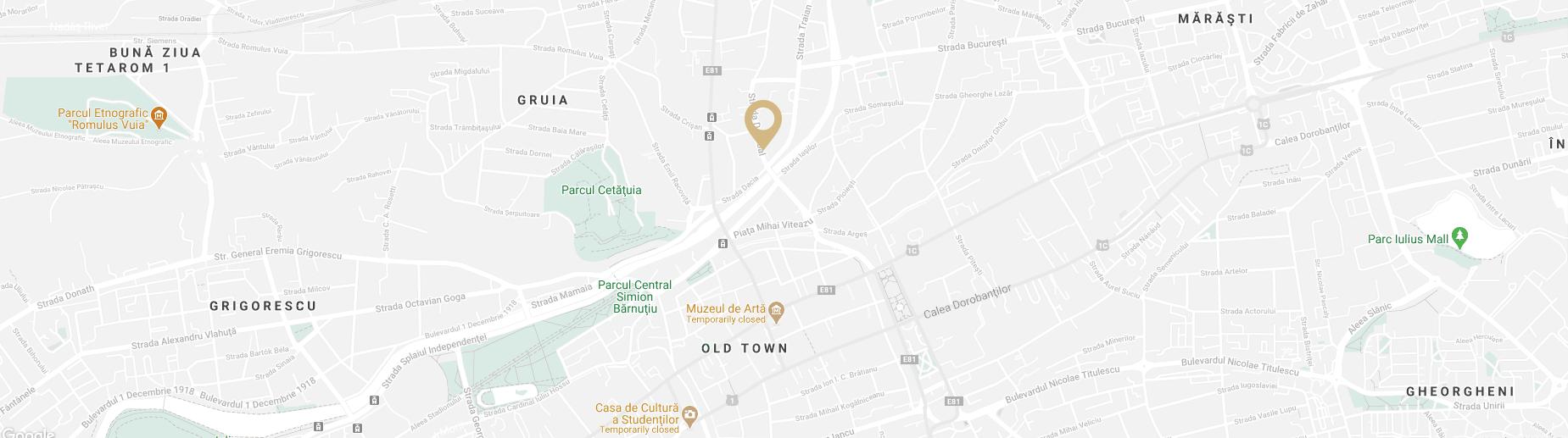 date contact adresa clinica dermatologica D6 Cluj